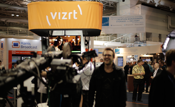StypeGRIP and Vizrt together at SMPTE 2013