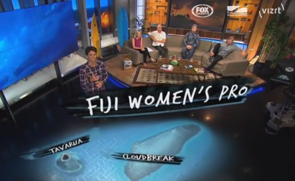 3D graphics for FuelTV's virtual guide to Fiji